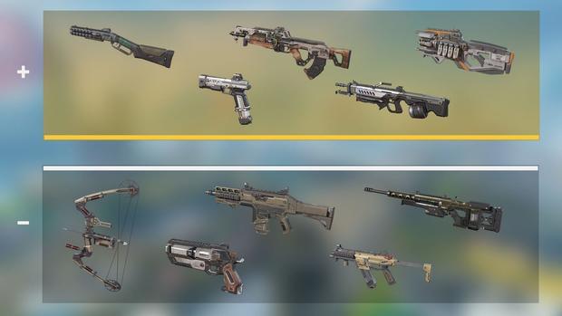 フルキット武器