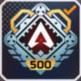 アカウントレベル500