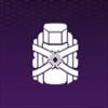 紫バックパック