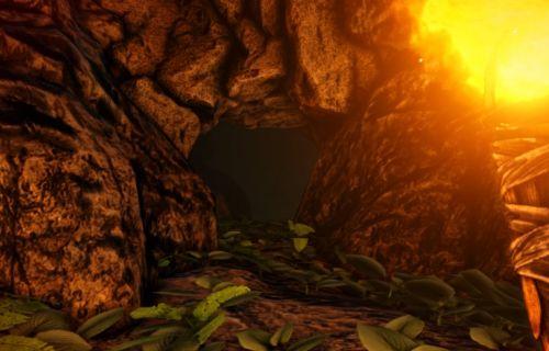 洞窟 アーク