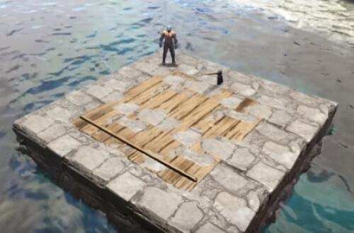 海上 拠点 Ark