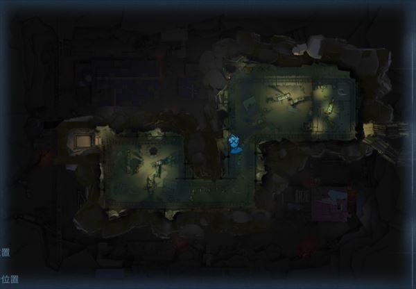 黄金の石窟のスポーン位置