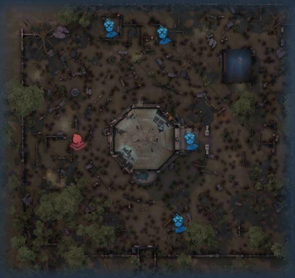 聖心病院のスポーン位置